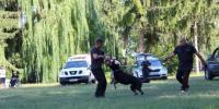 DOD psovod a pes v akcii